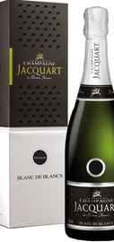 Шампанское белое брют «Champagne Jacquart Blanc de Blancs Vintage» 2009 г., в подарочной упаковке
