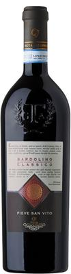 Вино красное сухое «Bardolino Pieve San Vito Valleselle»