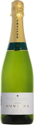 Вино игристое белое полусладкое «Cava Nuviana Dulce»