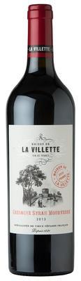 Вино красное сухое «Maison de La Villette Grenache Syrah Mourvedre, 0.75 л»