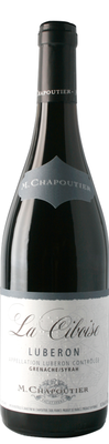 Вино красное сухое  «Luberon La Ciboise M.Chapoutier» 2015 г.