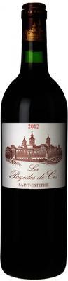 Вино красное сухое «Saint-Estephe Les Pagodes de Cos» 2012 г.
