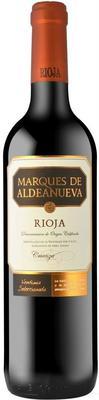 Вино красное сухое «Marques de Aldeanueva Crianza» 2014 г.