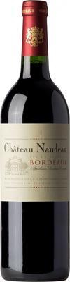 Вино красное сухое «Chateau Naudeau Bordeaux» 2015 г.