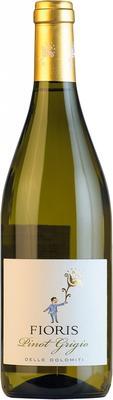 Вино белое сухое «Fioris Pinot Grigio» 2015 г.