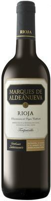 Вино красное сухое «Marques de Aldeanueva Joven» 2015 г.