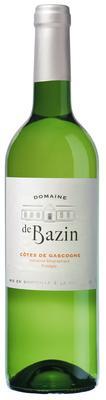 Вино белое полусухое «Domaine de Bazin Cotes de Gascogne blanc»