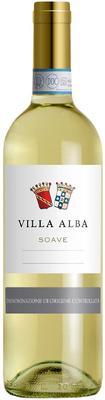 Вино белое сухое «Villa Alba Soave» 2015 г.