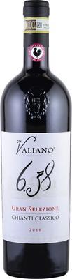 Вино красное сухое «Valiano 6.38 Gran Selezione Chianti Classico»