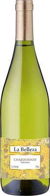 Вино белое полусладкое  «La Belleza Chardonnay» 2015 г.