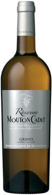 Вино белое сухое  «Reserve Mouton Cadet Bordeaux Blanc»