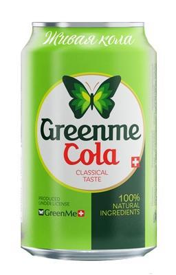 Напиток безалкогольный газированный «GreenMe Cola»
