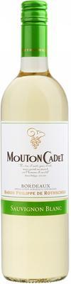 Вино белое сухое «Mouton Cadet Bordeaux Sauvignon Blanc» 2014 г.