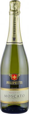 Вино игристое белое сладкое «Filipetti Moscato dolce»