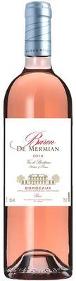 Вино розовое сухое «Baron de Mermian Bordeaux Rose»
