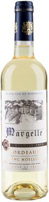 Вино белое полусладкое «Margelle Bordeaux Blanc Moelleux»