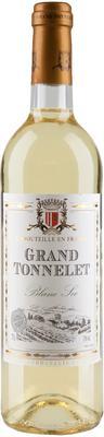 Вино столовое белое сухое «Grand Tonnelet Blanc Sec»