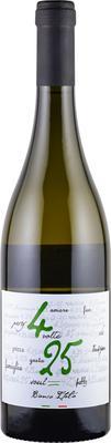 Вино столовое белое сухое «4 volte 25 Bianco»