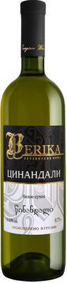 Вино белое сухое «Berika Tsinandali»