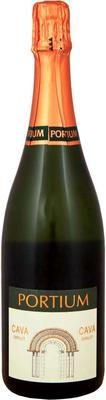 Вино игристое белое брют «Cava Portium»