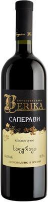 Вино красное сухое «Berika Saperavi»