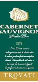 Вино красное сухое «Cabernet Sauvignon Trovati» 2013 г.
