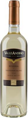 Вино белое сухое «Valle Andino Sauvignon Blanc Reserva» 2014 г.