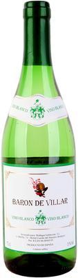 Вино белое сухое «Baron de Villar Blanco»