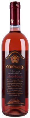 Вино розовое сухое «Cornaro Merlot Rosato, 0.75 л»