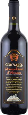 Вино красное сухое «Cornaro Montepulciano d'Abruzzo»