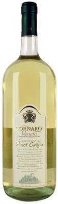 Вино белое сухое «Cornaro Pinot Grigio»