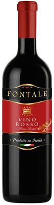 Вино столовое красное полусладкое «Fontale Rosso Semidulce»