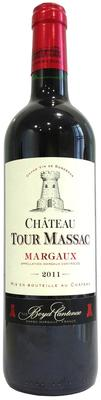 Вино красное сухое «Chateau Tour Massac Margaux» 2011 г.