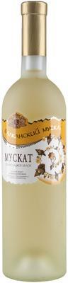 Вино столовое белое полусладкое «Балканский Мускат»