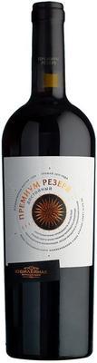 Вино красное сухое «Юбилейная Достойный Премиум Резерв» 2015 г.