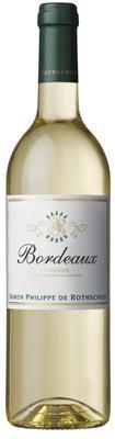 Вино белое сухое «Baron Philippe de Rothschild Bordeaux Blanc, 0.75 л» 2014 г.