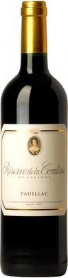 Вино красное сухое  «Reserve de la Comtesse Lalande» 2013 г.