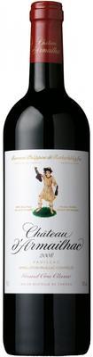 Вино красное сухое «Chateau d'Armailhac Pauillac AOC 5-me Grand Cru Classe» 2013 г.