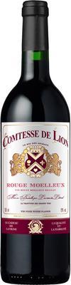 Вино красное полусладкое  «Comtesse de Lion»