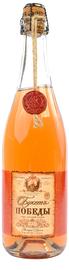 Вино игристое розовое экстра брют «Букет Победы»