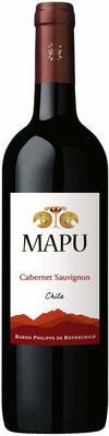 Вино красное сухое «Mapu Cabernet Sauvignon» 2015 г.