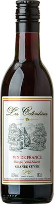 Вино красное полусладкое «Les Colombieres Red Semi Sweet, 0.187 л»
