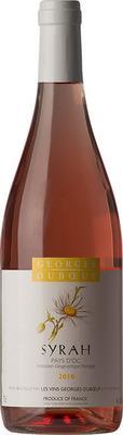 Вино розовое сухое «Georges Duboeuf Syrah Rose» 2015 г.