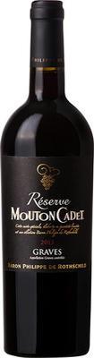 Вино красное сухое «Reserve Mouton Cadet Graves Rouge» 2015 г.