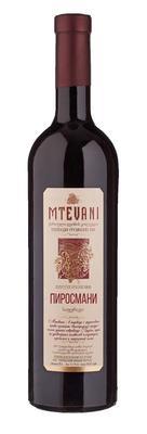 Вино красное полусухое «Мтевани Пиросмани»
