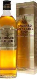 Виски «Lombard Gold Label» в подарочной упаковке