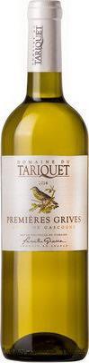 Вино белое сладкое «Tariquet Les Premieres Grives, 0.75 л» 2015 г.
