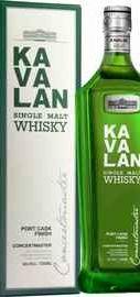 Виски «Kavalan Concertmaster Port Cask Finish» в подарочной упаковке