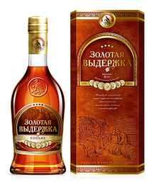 Коньяк российский «Пять звездочек» в сувенирной упаковке