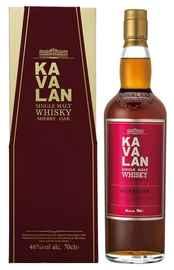 Виски «Kavalan Sherry Oak» в подарочной упаковке